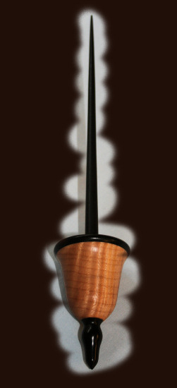 Ebony on Sycamore with African Blackwood shaft